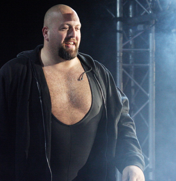 DURBAN, SOUTH AFRICA - JULY 08:  WWE Superstar Big Show is introduced during the WWE Smackdown Live Tour at Westridge Park Tennis Stadium on July 08, 2011 in Durban, South Africa.  (Photo by Steve Haag/Gallo Images/Getty Images)