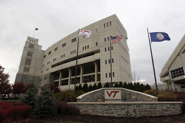 BLACKSBURG, VA - NOVEMBER 04: A general view of the entrance to Lane Stadium prior to the game between the Virginia Tech Hokies and the Georgia Tech Yellow Jackets on November 4, 2010 in Blacksburg, Virginia.  (Photo by Geoff Burke/Getty Images)