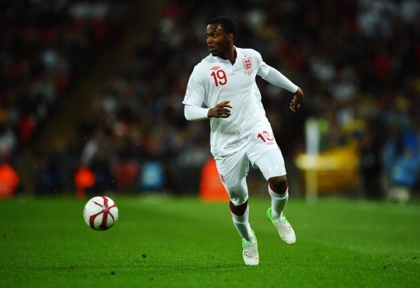 LONDON, ENGLAND - SEPTEMBER 11:  Daniel Sturridge in action during the FIFA 2014 World Cup Group H qualifying match between England and Ukraine at Wembley Stadium on September 11, 2012 in London, England.  (Photo by Laurence Griffiths/Getty Images)