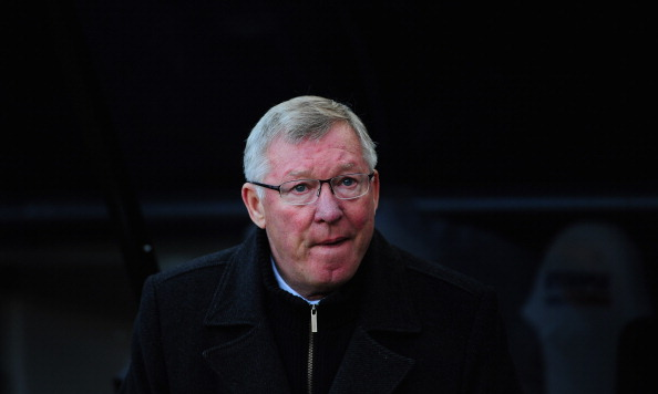 NEWCASTLE UPON TYNE, ENGLAND - OCTOBER 07:  Manchester United manager Sir Alex Ferguson looks on before the Barclays Premier league game between Newcastle United and  Manchester United at Sports Direct Arena on October 7, 2012 in Newcastle upon Tyne, England.  (Photo by Stu Forster/Getty Images)