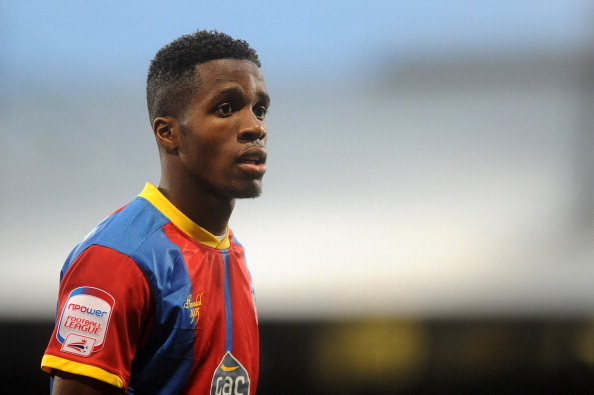 LONDON, ENGLAND - NOVEMBER 17: Wilfried Zaha of Crystal Palace during the npower Championship match between Crystal Palace and Derby County at Selhurst Park on November 17, 2012 in London, England. (Photo by Charlie Crowhurst/Getty Images)
