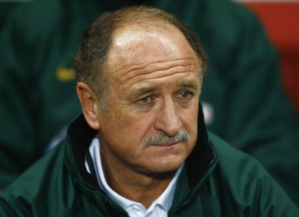 LONDON - FEBRUARY 06:  Luiz Felipe Scolari coach of Portugal looks on prior to the International friendly match between Brazil and Portugal at the Emirates Stadium on February 6, 2006 in London, England.  (Photo by Clive Mason/Getty Images)