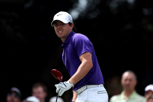 DORAL, FL - MARCH 10:  Rory McIlroy of Northern Ireland watches his driveon the fifth hole during the final round of the WGC - Cadillac Championship at the Trump Doral Golf Resort & Spa on March 10, 2013 in Doral, Florida.  (Photo by Warren Little/Getty Images)
