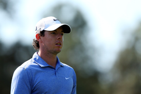 AUGUSTA, GA - APRIL 09:  Rory McIlroy of Northern Ireland watches a shot during a practice round prior to the start of the 2013 Masters Tournament at Augusta National Golf Club on April 9, 2013 in Augusta, Georgia.  (Photo by Mike Ehrmann/Getty Images)
