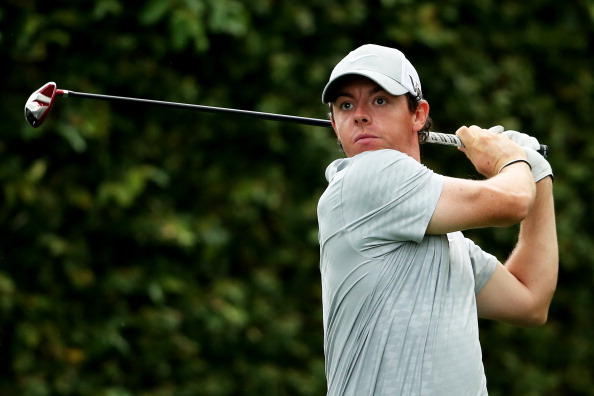 AUGUSTA, GA - APRIL 12:  Rory McIlroy of Northern Ireland hits a tee shot on the second hole during the second round of the 2013 Masters Tournament at Augusta National Golf Club on April 12, 2013 in Augusta, Georgia.  (Photo by Andrew Redington/Getty Images)