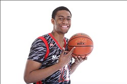 April 3, 2013; Chicago, IL, USA;  McDonald's All American forward Jabari Parker (22) poses for portraits before the 36th McDonalds All American Games to be played at the United Center. Mandatory Credit: Brian Spurlock-USA TODAY Sports