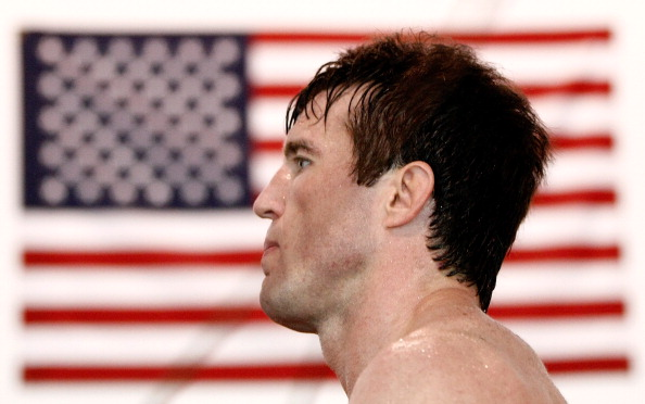 TUALATIN, OR - JUNE 26:  Chael Sonnen conducts a workout at the Team Quest gym on June 26, 2012 in Tualatin, Oregon.  Sonnen will fight Anderson Silva July 7, 2012 at UFC 148 in Las Vegas, Nevada.  (Photo by Jonathan Ferrey/Getty Images)