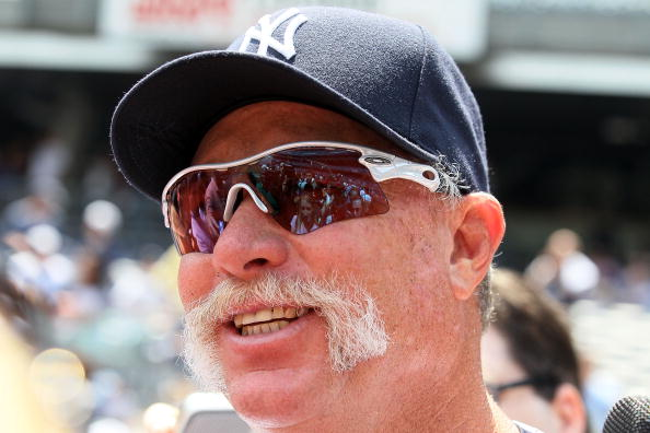 NEW YORK - JULY 17:  Hall of Famer Rich Gossage looks on during the New York Yankees 64th Old-Timer's Day before the MLB game against the Tampa Bay Rays on July 17, 2010 at Yankee Stadium in the Bronx borough of New York City.  (Photo by Jim McIsaac/Getty Images)