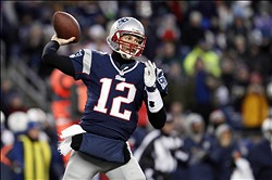 Dec 30, 2012; Foxborough, MA, USA; New England Patriots quarterback Tom Brady (12) throws a pass against the Miami Dolphins during the first quarter at Gillette Stadium. Mandatory Credit: David Butler II-USA TODAY Sports