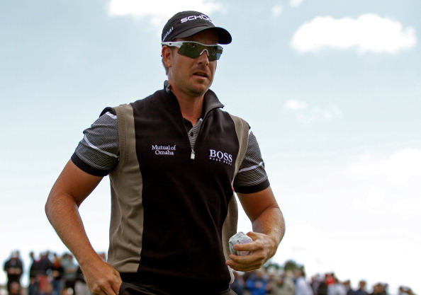 LAKE FOREST, IL - SEPTEMBER 13: Henrik Stenson of Sweden walks off the third green during the Second Round of the BMW Championship at Conway Farms Golf Club on September 13, 2013 in Lake Forest, Illinois.  (Photo by Michael Cohen/Getty Images)