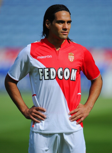 LEICESTER, ENGLAND - JULY 27:  Radamel Falcao of Monaco looks on during the the pre season friendly match between Leicester City and Monaco at The King Power Stadium on July 27, 2013 in Leicester, England.  (Photo by Michael Regan/Getty Images)