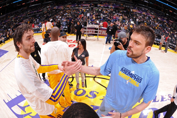 LOS ANGELES, CA - APRIL 5: Pau Gasol