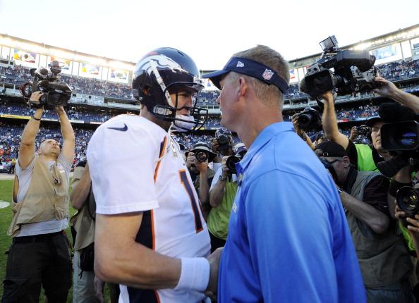 SAN DIEGO, CA - NOVEMBER 10:  Peyton Manning