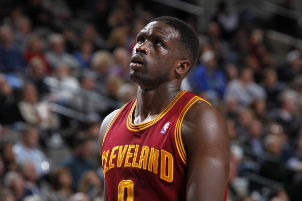 DALLAS, TX - FEBRUARY 3: Luol Deng #9 of the Cleveland Cavaliers during a game against the Dallas Mavericks on February 3, 2014 at the American Airlines Center in Dallas, Texas. NOTE TO USER: User expressly acknowledges and agrees that, by downloading and or using this photograph, User is consenting to the terms and conditions of the Getty Images License Agreement. Mandatory Copyright Notice: Copyright 2014 NBAE (Photo by Glenn James/NBAE via Getty Images)