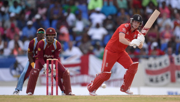 ANTIGUA, ANTIGUA AND BARBUDA - MARCH 02:  Ben Stokes of England bats during the 2nd One Day International between the West Indies and England at Sir Viv Richards Cricket Ground on March 2, 2014 in Antigua, Antigua and Barbuda.  (Photo by Gareth Copley/Getty Images)