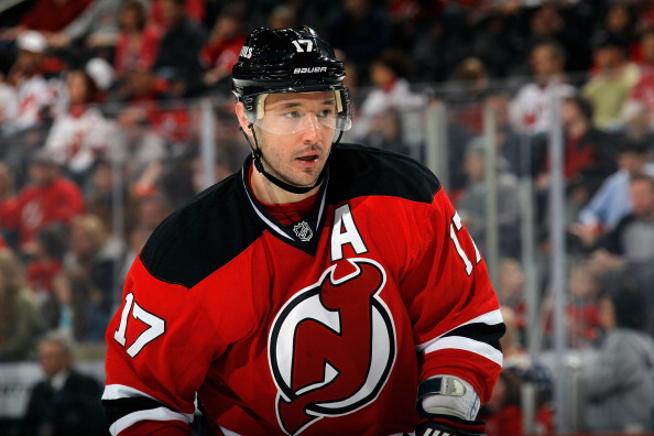 NEWARK, NJ - APRIL 20:  Ilya Kovalchuk #17 of the New Jersey Devils skates against the Florida Panthers at the Prudential Center on April 20, 2013 in Newark, New Jersey. The Devils defeated the Panthers 6-2,  (Photo by Bruce Bennett/Getty Images)