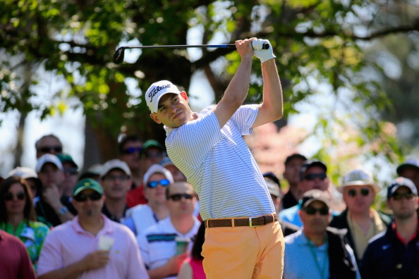 AUGUSTA, GA - APRIL 10:  Bill Haas of the United States watches his tee shot on the fourth hole during the first round of the 2014 Masters Tournament at Augusta National Golf Club on April 10, 2014 in Augusta, Georgia.  (Photo by Rob Carr/Getty Images)