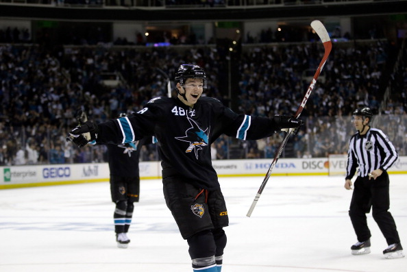 SAN JOSE, CA - APRIL 17:  Tomas Hertl