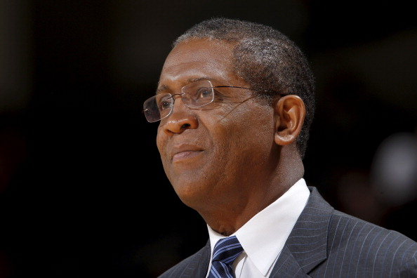 OAKLAND, CA - DECEMBER 2: Bill Cartwright watches the Golden State Warriors take on the Phoenix Suns on December 2, 2010 at Oracle Arena in Oakland, California. NOTE TO USER: User expressly acknowledges and agrees that, by downloading and/or using this Photograph, user is consenting to the terms and conditions of the Getty Images License Agreement. Mandatory Copyright Notice: Copyright 2010 NBAE (Photo by Rocky Widner/NBAE via Getty Images)