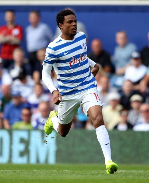 LONDON, ENGLAND - AUGUST 16:  Loic Remy of QPR during the Barclays Premier League match between Queens Park Rangers and Hull City at Loftus Road on August 16, 2014 in London, England.  (Photo by Scott Heavey/Getty Images)