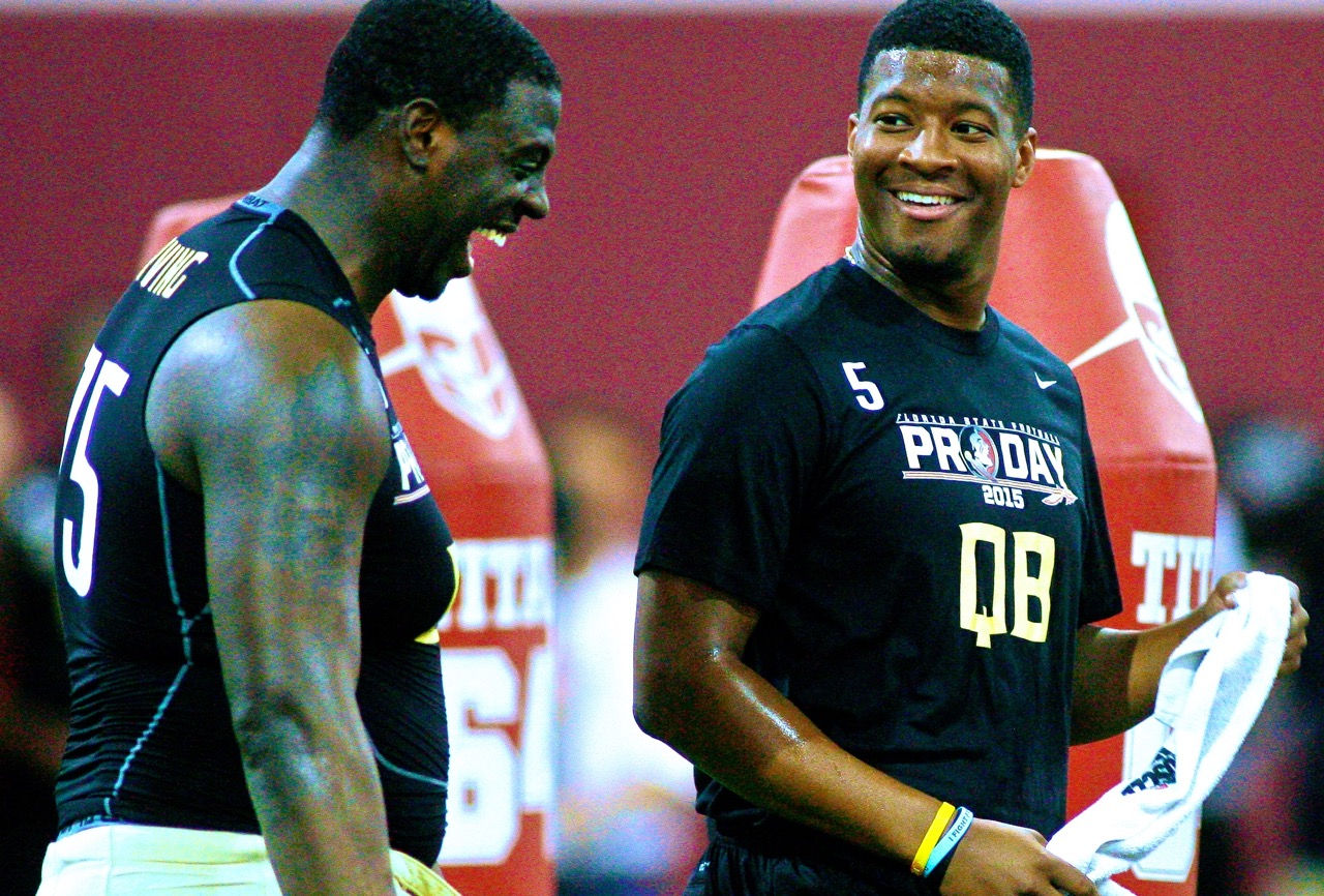 Jameis Winston Discusses Crab Leg Incident with Jim Harbaugh on ...