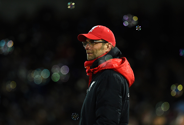 LONDON, ENGLAND - FEBRUARY 09:  Jurgen Klopp manager of Liverpool looks on during the Emirates FA Cup Fourth Round Replay match between West Ham United and Liverpool at Boleyn Ground on February 9, 2016 in London, England.  (Photo by Mike Hewitt/Getty Images)