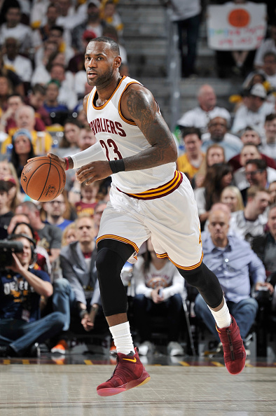 LeBron James Leads Cavaliers Past Pacers in Game 1, CJ ...