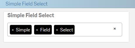 SimpleFieldSelect: Qlik Branch Projects