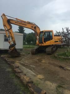 Big excavator