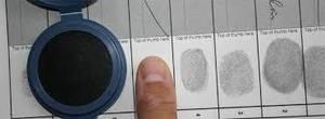 Finger print journal