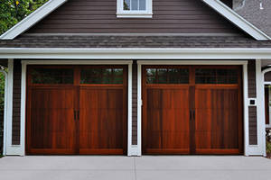Wood garage doors 5700