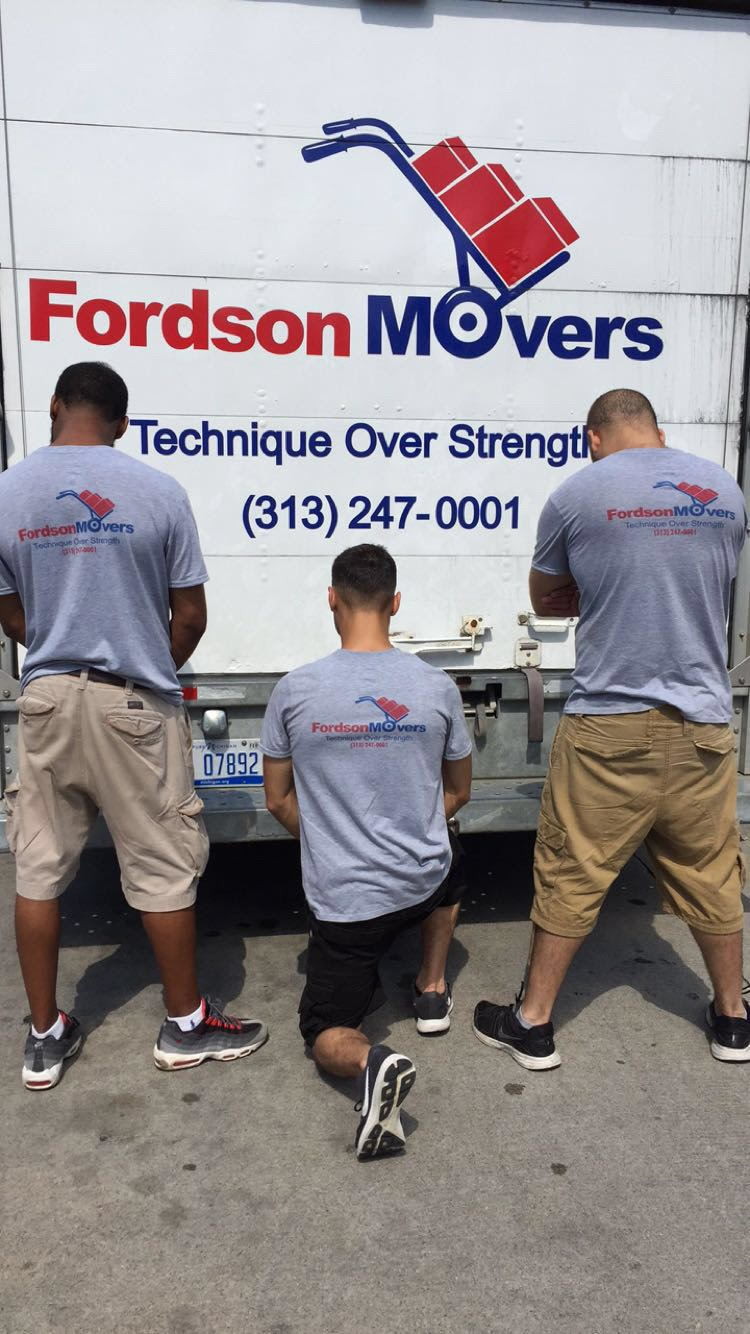 Fordson movers team photo