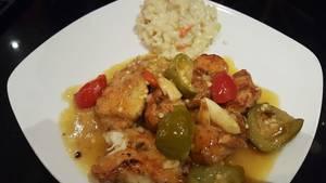 Chicken sicilian