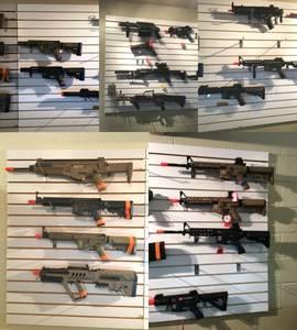 Rifles all