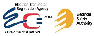 All electrical work is done by licensed individuals