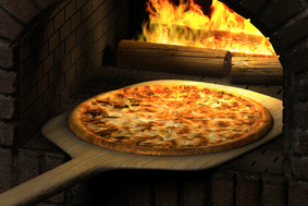 Italian brick oven pizza