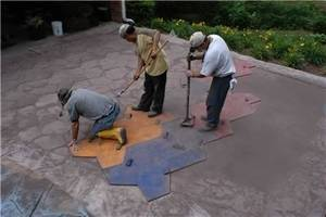 Stamped concrete decorative concrete institute 4680