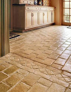 Kitchen design tiles for floor