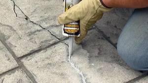 Tsv quikrete repairing cracks concrete