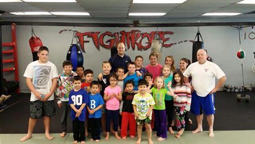 Kids Amateur Boxing Teaching