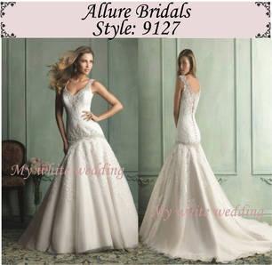 My white wedding allure bridal 9127