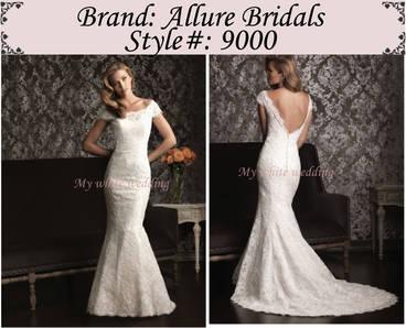 My white wedding allure bridal 9000