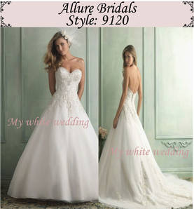 My white wedding allure bridal 9120