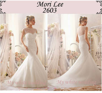 My white wedding mori lee 2603