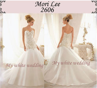 My white wedding mori lee 2606