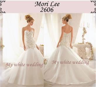 My white wedding mori lee 2606