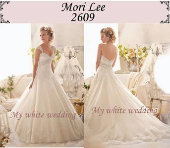 My white wedding mori lee 2609