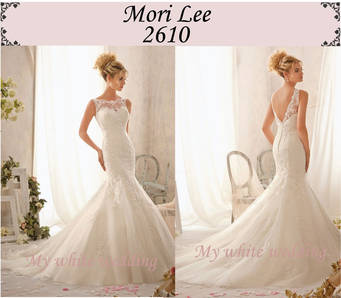 My white wedding mori lee 2610