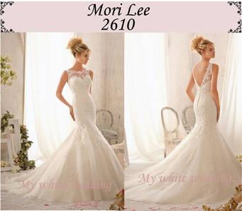 My white wedding mori lee 2610