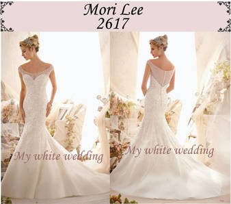 My white wedding mori lee 2617